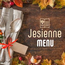 social jesienne menu image